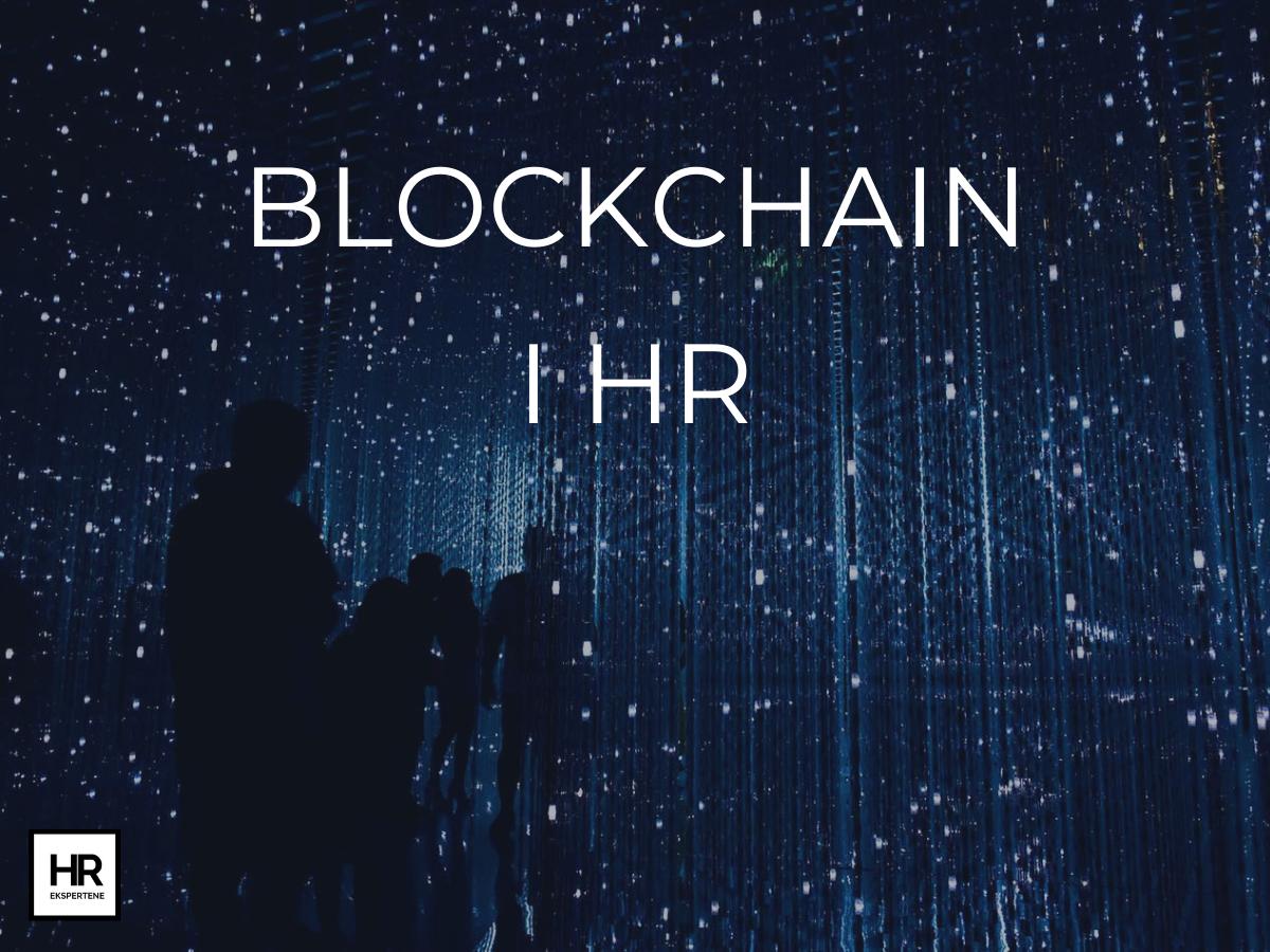 Blockchain i HR HR EKSPERTENE
